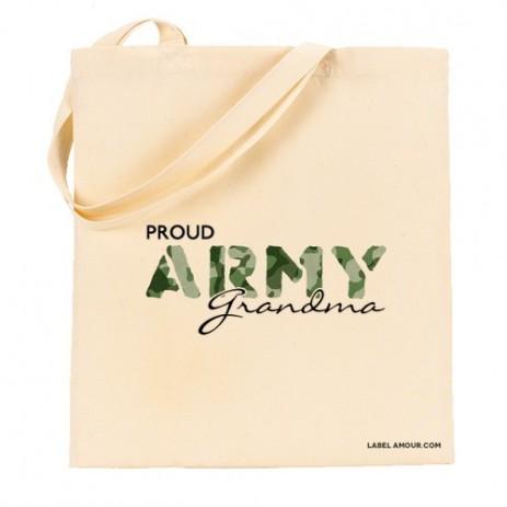 Proud Army Grandma Tote Bag