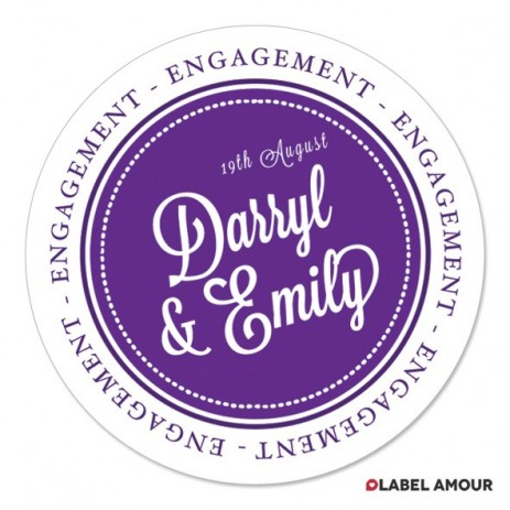 Aldred Wedding Label