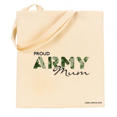 Proud Army Mum Tote Bag