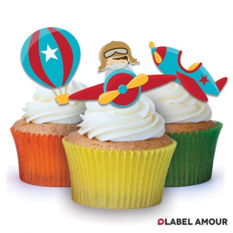 Aviator Edible Tinker Toppers