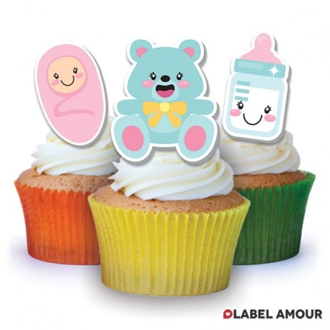 Baby Edible Tinker Toppers