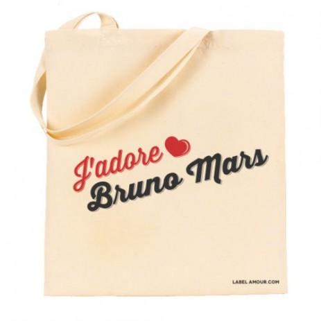 J'Adore Bruno Mars Tote Bag