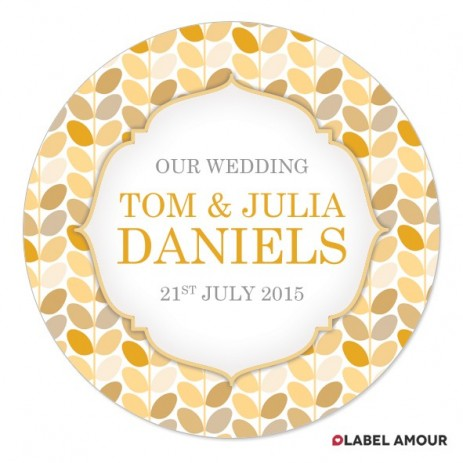 Charlotte Wedding Label
