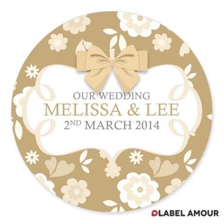 Dempsey Wedding Label