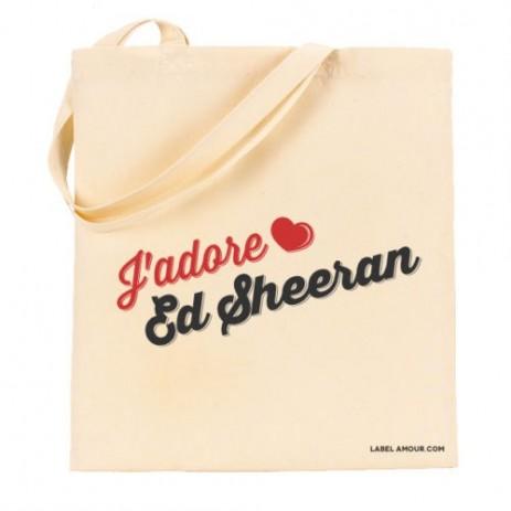 J'Adore Ed Sheeran Tote Bag