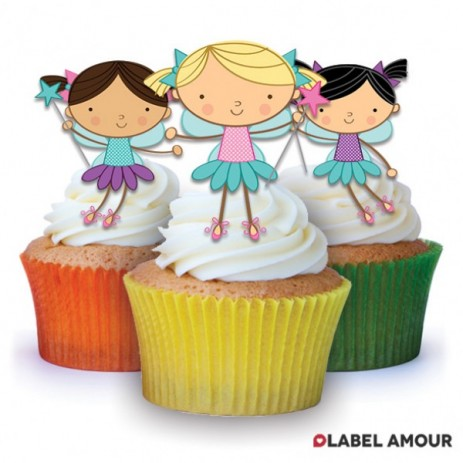 Fairies 2 Edible Tinker Toppers