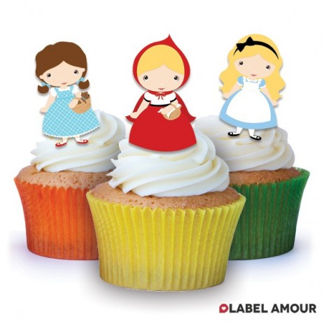 Fairytale Edible Tinker Toppers