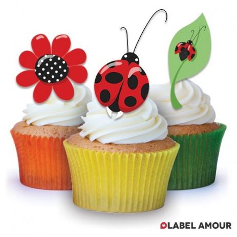 Ladybird Edible Tinker Toppers