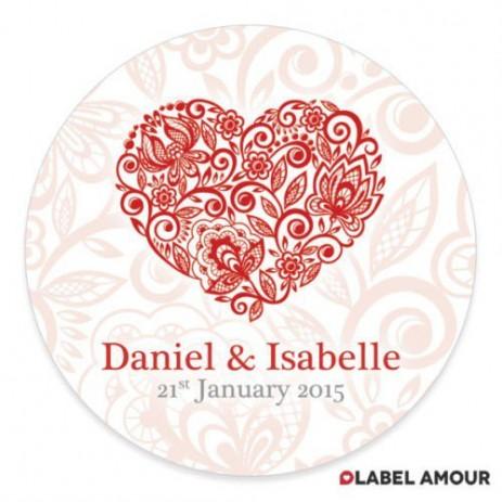 Lathey Wedding Label