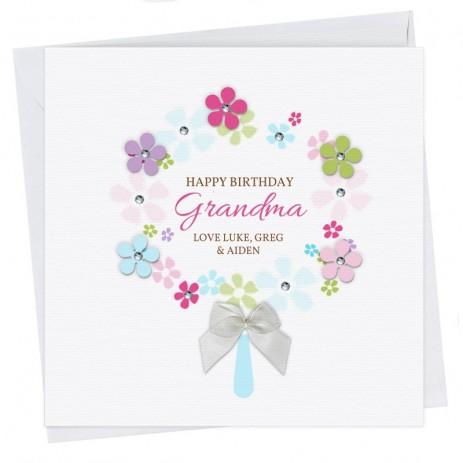 Liz Happy Birthday Grandma Card