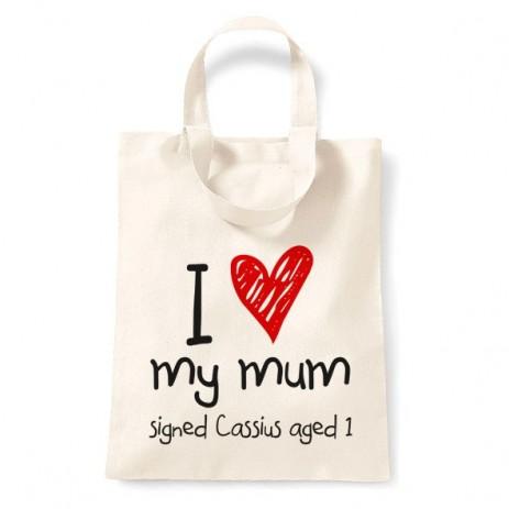 I Love My Mum Tote Bag