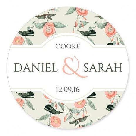 Lunar Wedding Label