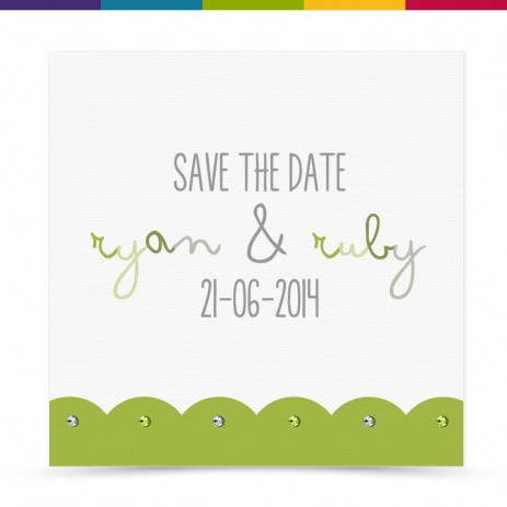 Meg Wedding Save the Date Card Pack