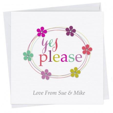 Nadine Wedding RSVP Card