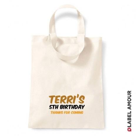 Oddie Birthday Tote Bag