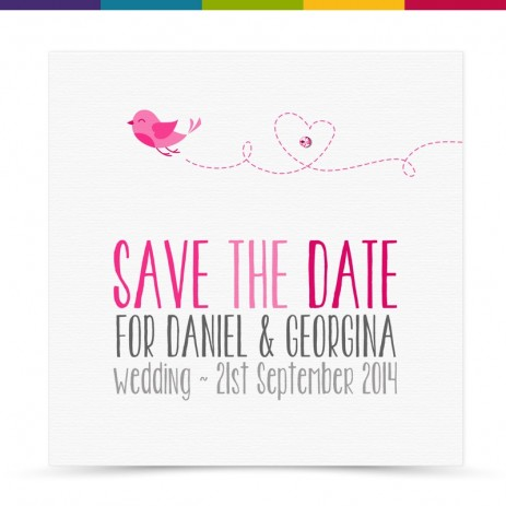 Peggy Wedding Save the Date Card Pack