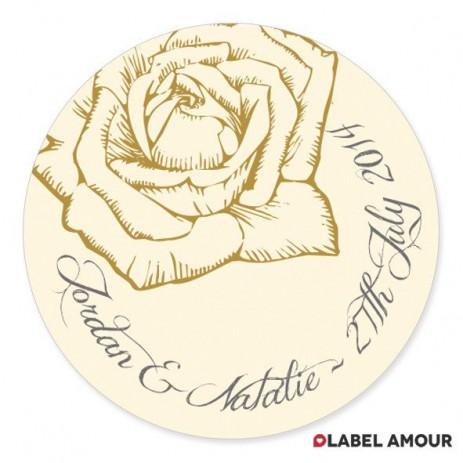 Reed Wedding Label