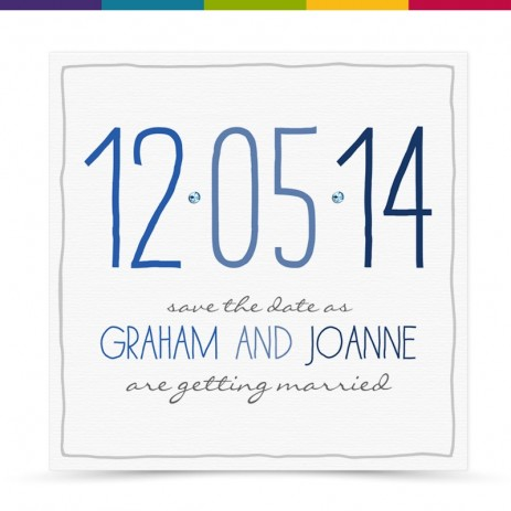 Zora Wedding Save the Date Card Pack