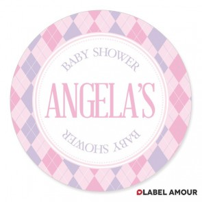 Aubree Baby Shower Label