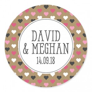 Blush 1 Wedding Label