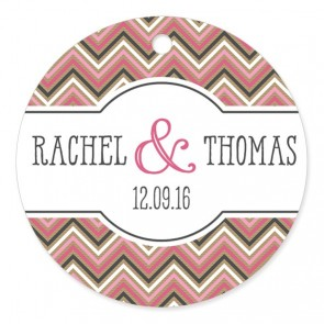 Blush 3 Wedding Label