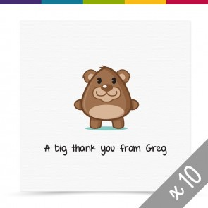 Bobby Thank You Card Pack