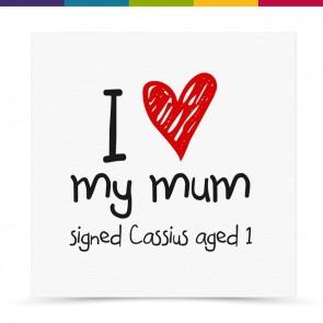 Cassie Mum Card
