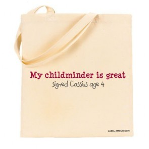 Childminder Is Great Tote Bag