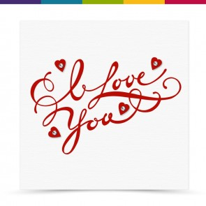 Cleo Anniversary Valentines Card