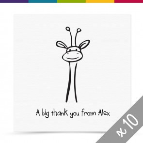 Dominic Thank You Card Pack