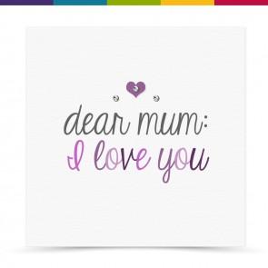 Elsa Mum Card