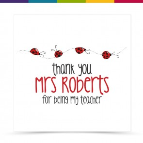 Florrie Thank You Teacher Card