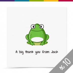 Freddie Thank You Card Pack