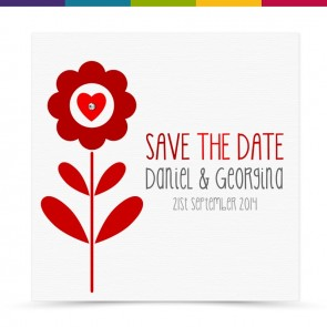Ginny Wedding Save the Date Card Pack
