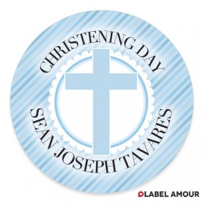 Godden Christening Label