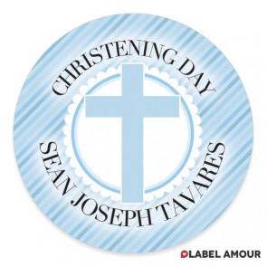 Godden Christening Label