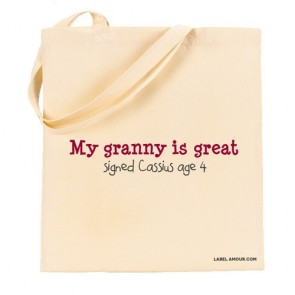 Granny Is Great Tote Bag