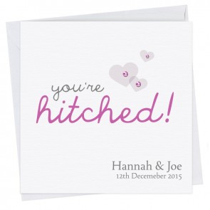 Hannah Engagement Hitched Card