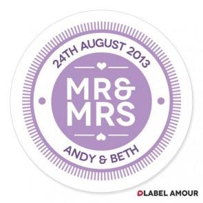 Hannam Wedding Label