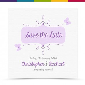 Iona Wedding Save the Date Card Pack