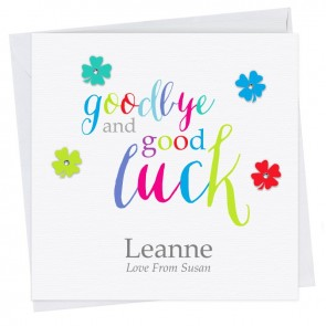 Jemima Good Luck Card