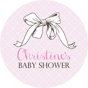 Josy Baby Shower Label