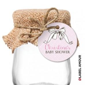 Josy Baby Shower Hang Tag