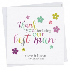 Kate Thank You Best Man Card