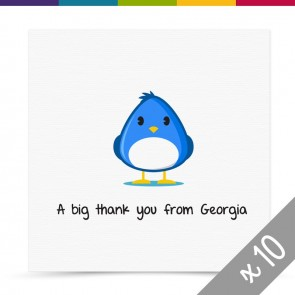 Kit Thank You Card Pack