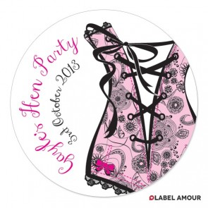 London Hen Party Label