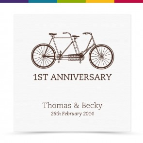 Lou Wedding Anniversary Card