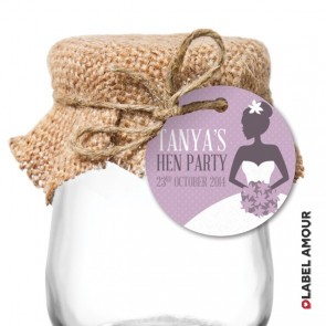 Lydia Hen Party Hang Tag