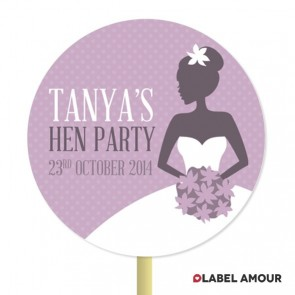 Lydia Hen Party Standing Topper