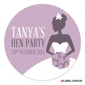 Lydia Hen Party Label
